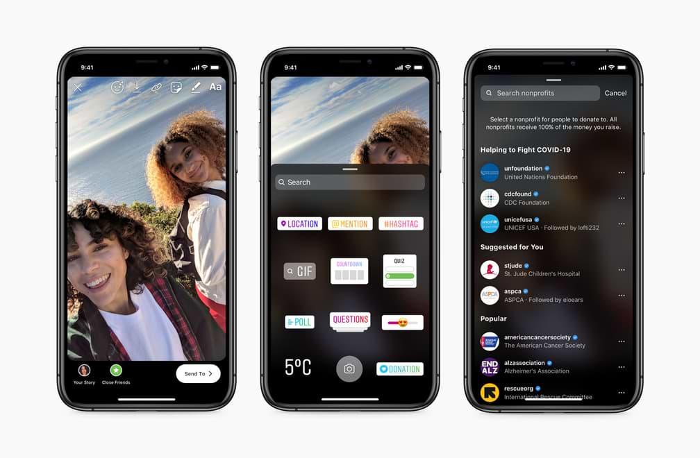 Instagram lanza una nueva función de video chat para alentar a los usuarios a quedarse en casa