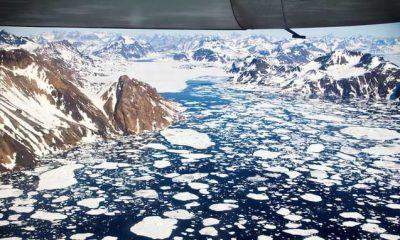 La NASA dice que las capas de hielo de Groenlandia y la Antártida se están derritiendo seis veces más rápido que en los años 90