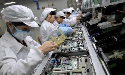 Los suministros de componentes de reclamaciones de Foxconn han vuelto a los niveles anteriores al coronavirus