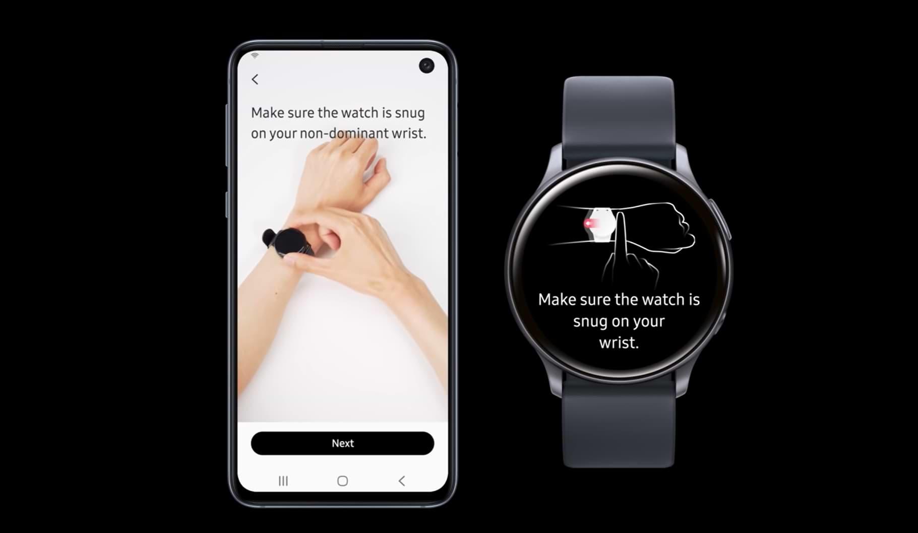 Los Smartwatches de Samsung obtienen una nueva aplicación de monitoreo de la presión arterial