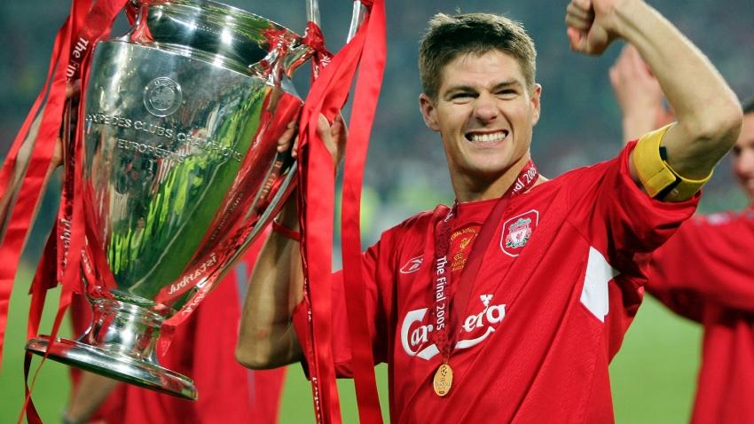 Liverpool stars in Happy Birthday singalong as Steven Gerrard turns 40