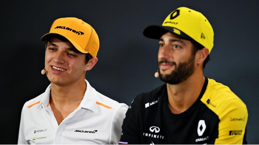 Ricciardo and Norris in Bathurst 1000 excites McLaren chief Brown