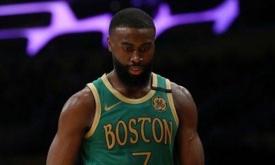 Celtics' Jaylen Brown leads peaceful protest in Atlanta