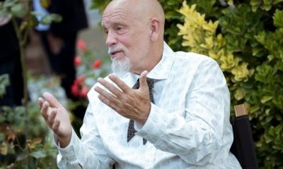 ANGOULEME, FRANCE - AUGUST 22: John Malkovich attends the Jury photocall during the 10th Angouleme French-Speaking Film Festival on August 22, 2017 in Angouleme, France. (Photo by Francois Durand/Getty Images)
