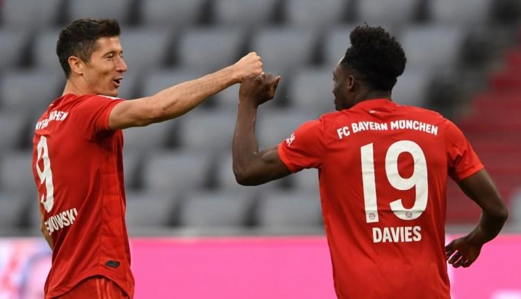 Bayern Robert Lewandowski Bundesliga