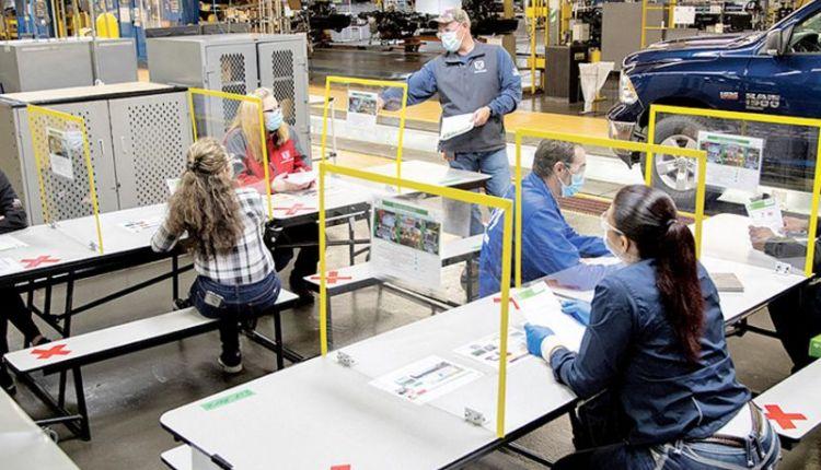 Shorter virus disruptions at Detroit 3 UAW plants