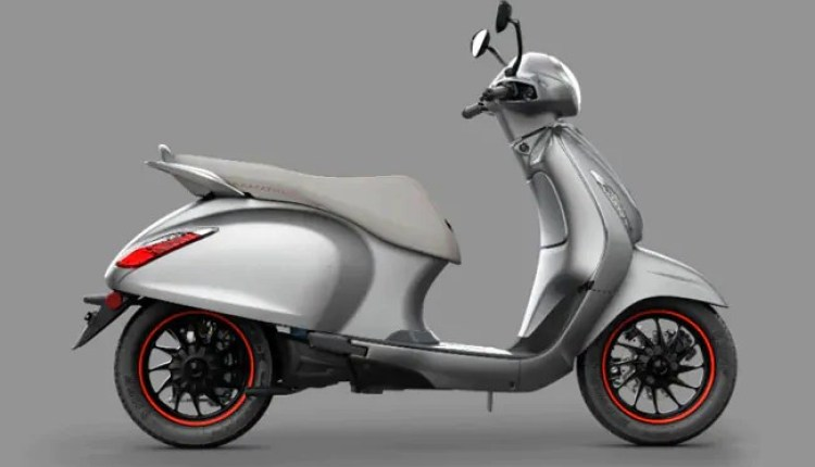 The Bajaj Chetak can be bought in two variants; Urbane & Premium