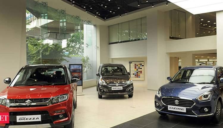 Maruti Suzuki sells 13,865 units in the local market in May