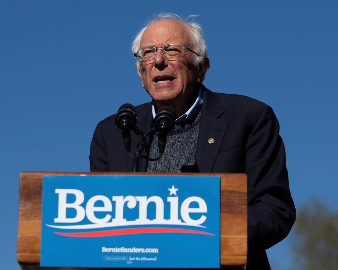 In this Oct. 19, 2019 file photo, Democratic presidential candidate Sen. Bernie Sanders, I-Vt., speaks to supporters during a rally in New York. A federal appeals court gave the green light Tuesday, May 19, 2020 to New York state's June 23 Democratic presidential primary. The 2nd U.S. Circuit Court of Appeals agreed with a lower court judge who ruled two weeks ago that the primary must include the contest over the state's objections.