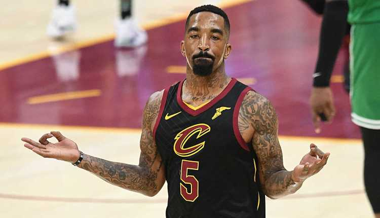 Twitter reacts to J.R. Smith beating up man who allegedly broke his truck window during LA protests
