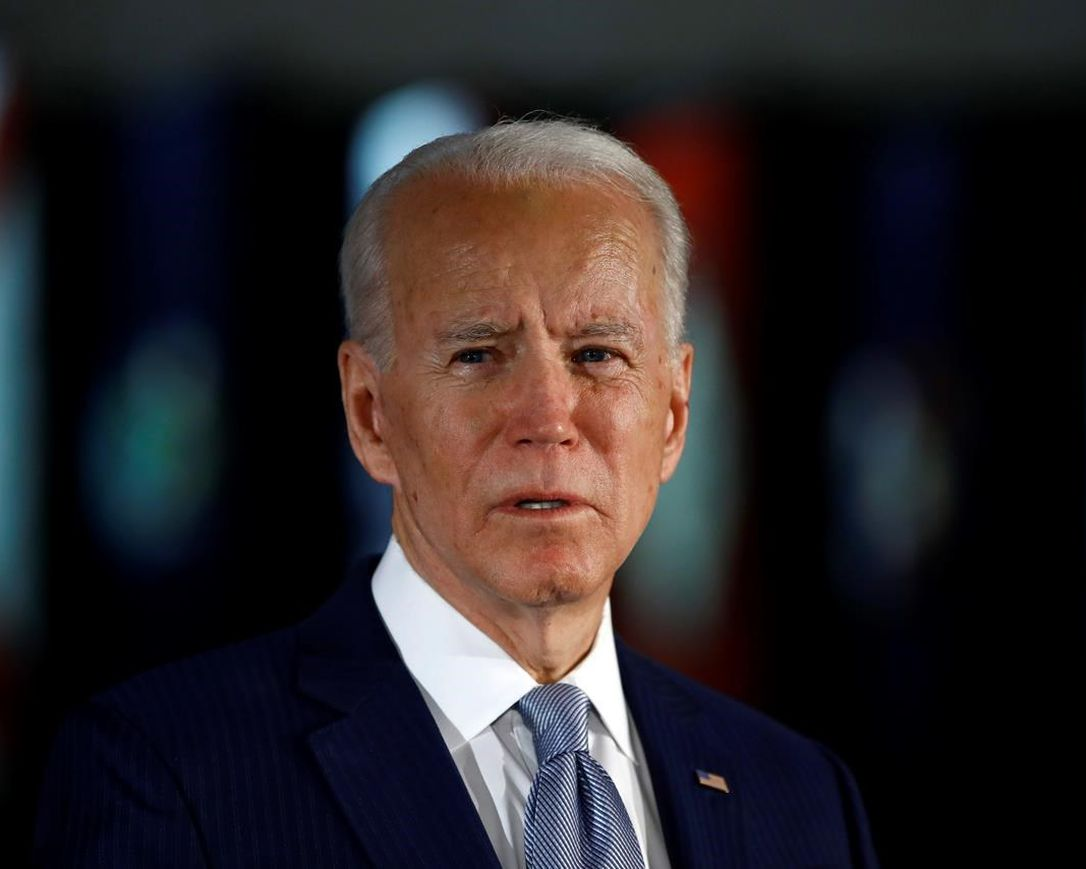 In this March 10, 2020, file photo, Democratic presidential candidate former Vice President Joe Biden speaks to members of the press at the National Constitution Center in Philadelphia. The police killing of George Floyd and the civil and political unrest that's rocked the nation in the week since has the potential to reshape Joe Biden's vice-presidential selection process.