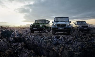 2020 Mercedes-Benz G-Class Three Heritage-Inspired Colors G350d G63