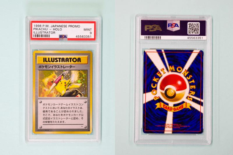 worlds most expensive Pokémon card pikachu illustrator zenplus auction 250000 usd sale price