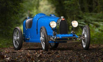 """Bugatti x The Little Car Company Type 35 """"Baby"""" Remake Ettore Bugatti luxury coachbuilding cars supercars speed"""