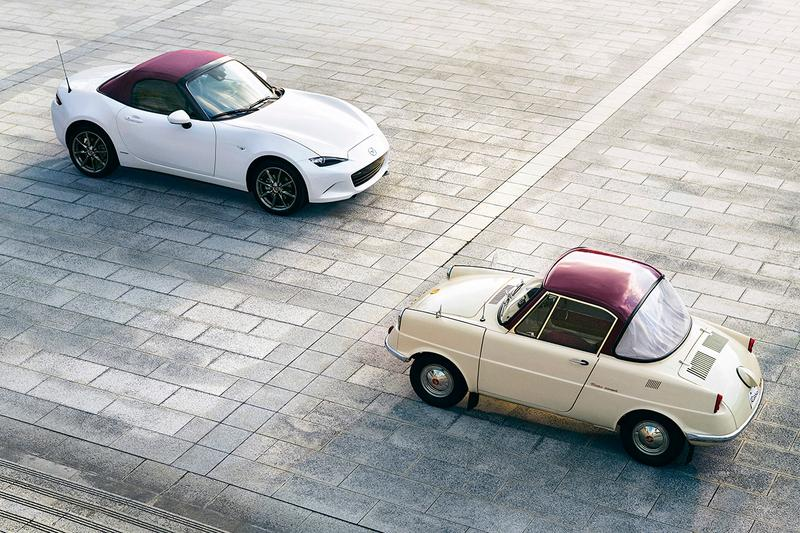 Mazda MX-5 Miata 100th Anniversary Special Edition RF Retractable Fastback Soft Top Convertible Sportscar Japanese four-cylinder Skyactiv-G 2.0 engine 181 horsepower and 151 lb-ft of torque