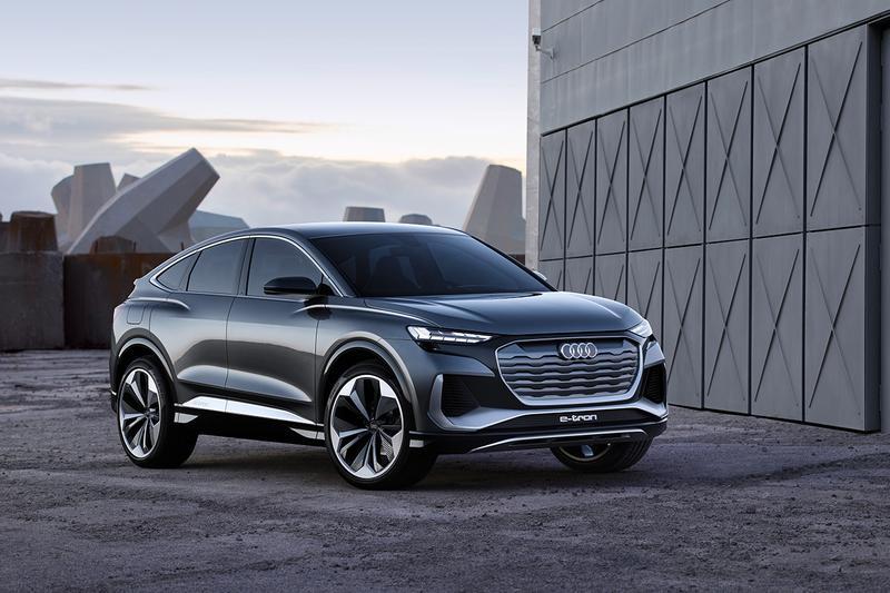Audi Q4 Sportback E-Tron Concept Revealed German Electric Cars EV 2021 Release Information Closer Look Automotive Engineering Technology