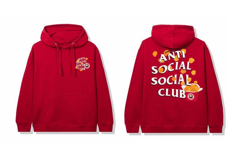 Panda Express Anti Social Social Club Capsule Release Info Buy Price Hoodie T shirt Cap Orange Chicken