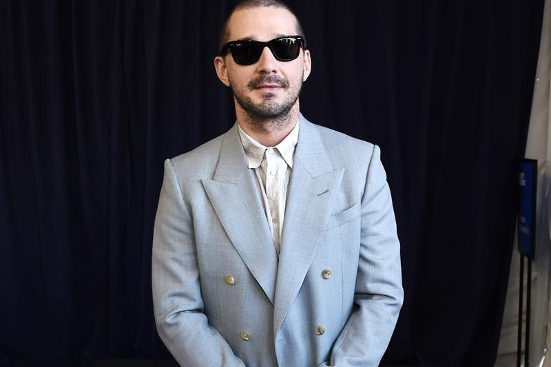 Shia LaBeouf Real Tattoos Tax Collector Role Info Images Photos
