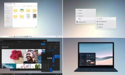 Windows 10 concept
