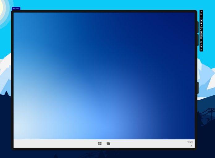 Windows 10X single screen