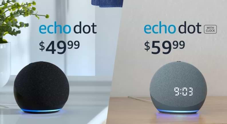Amazon lanza un nuevo Echo Dot con forma de bola