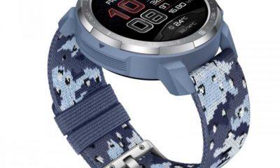 HONOR Watch GS Pro obtiene opciones de color Camo Blue y Camo Grey