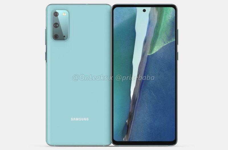 Infografía revela todo sobre el Samsung Galaxy S20 FE 5G