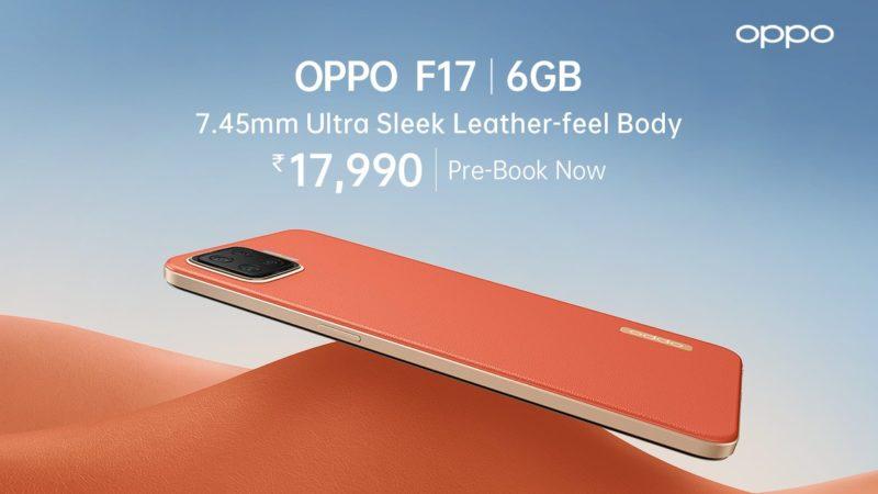 OPPO F17 Indian precio y disponibilidad revelados