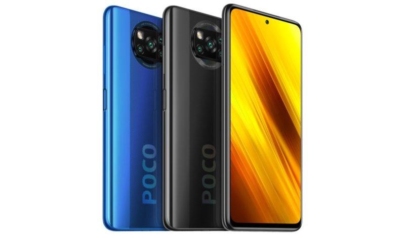 POCO X3 debuta en India a partir de Rs 16,999
