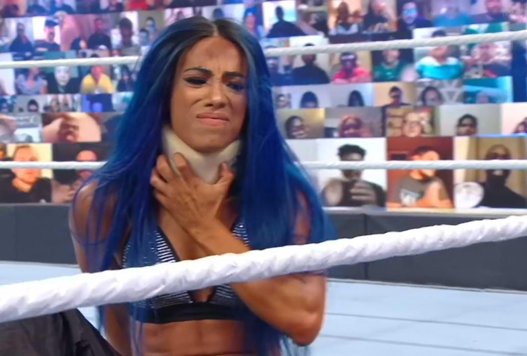 Resultados de WWE Clash Of Champions Bayley atacado por Sasha Banks