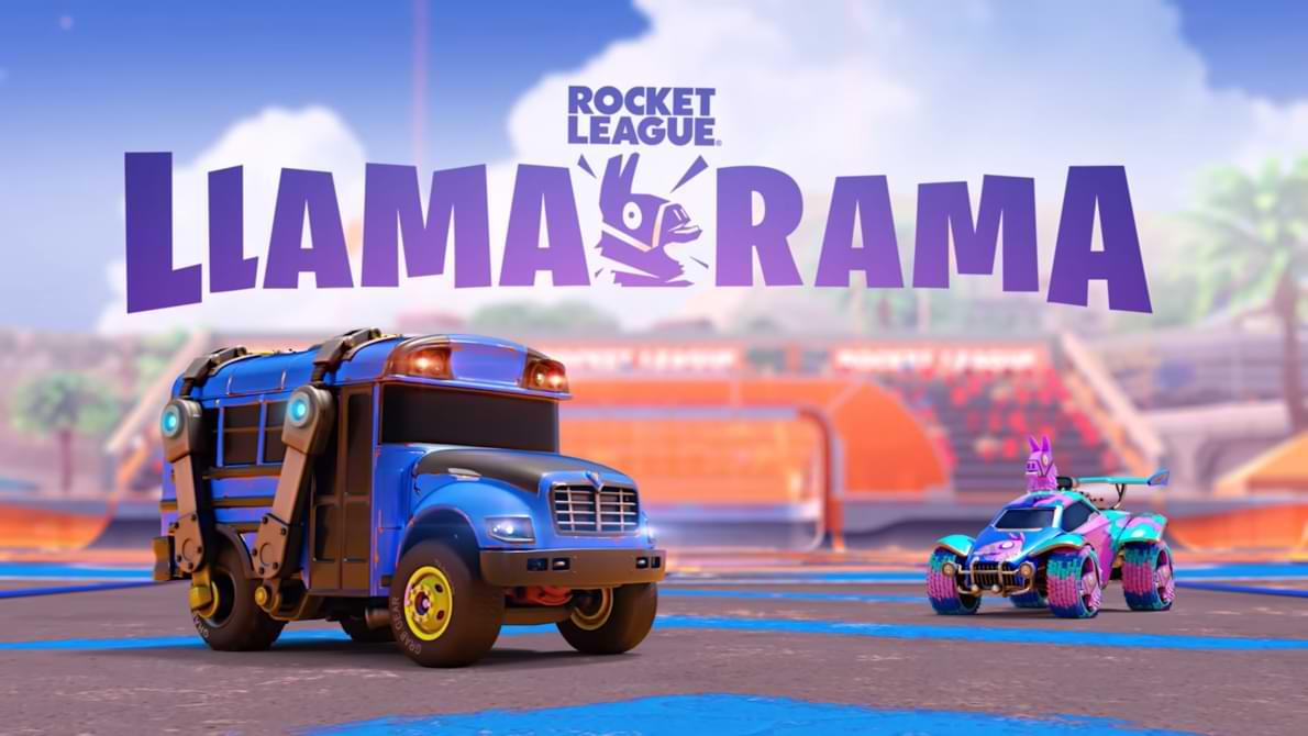 Rocket League colabora con Fortnite para organizar el evento Llama-Rama