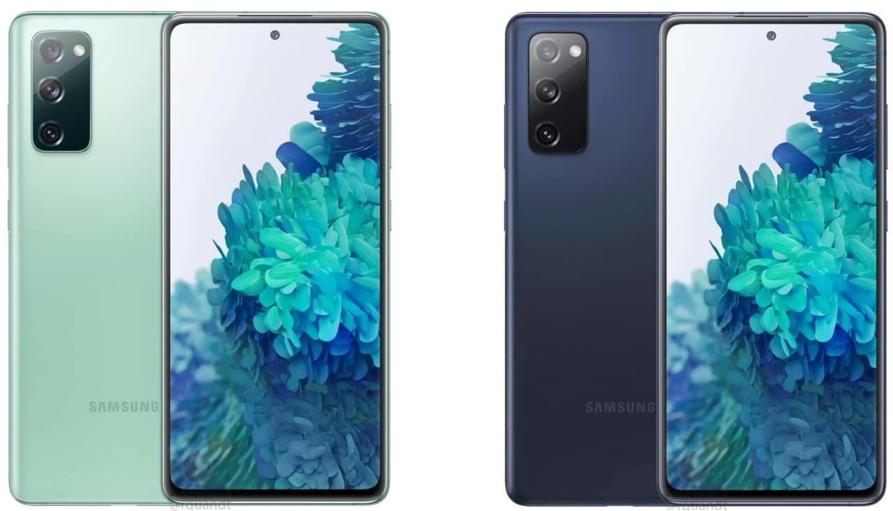 Samsung Galaxy S20 FE 5G visto en el sitio web de la empresa