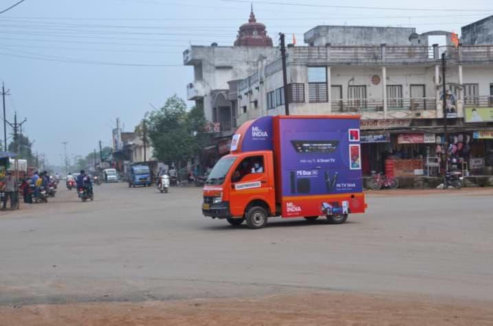 Xiaomi India vende teléfonos móviles usando Box Cars