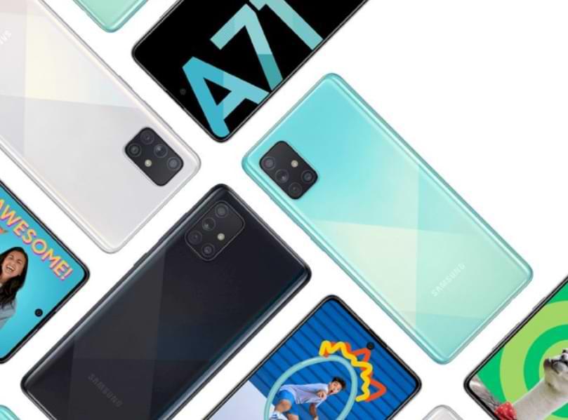 Actualización de Samsung Rolls One UI 2.5 para el teléfono inteligente Galaxy A71