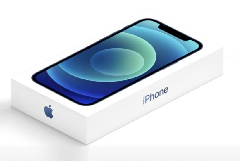 Así es la caja del iPhone 12 sin un adaptador de cargador