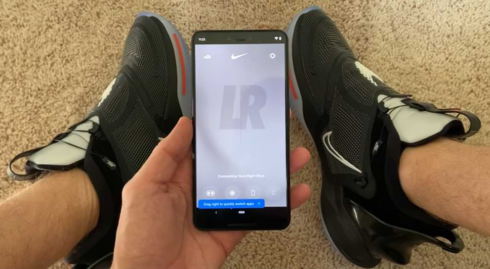 El Asistente de Google ahora puede atarte los cordones de tus zapatos si tus zapatos son Nike Adapt