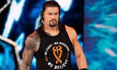 En el evento principal del estreno de la temporada de WWE Friday Night SmackDown, Roman Reigns puso su Campeonato Universal en juego contra Braun Strowman