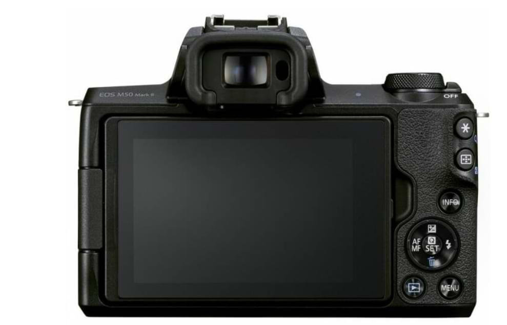 Esta es la Canon EOS M50 Mark II que viene con varias mejoras