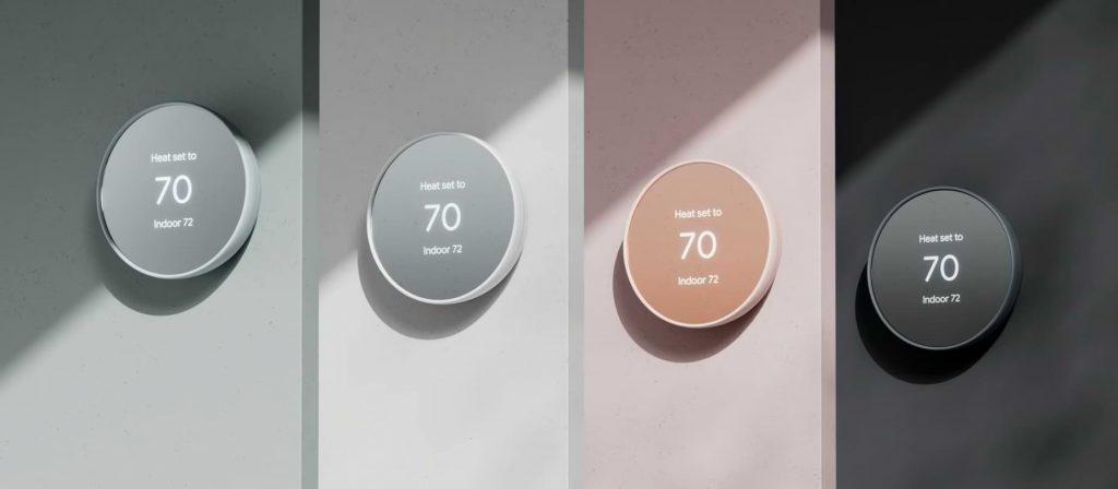 Google anuncia un nuevo termostato con un diseño más simple y un precio más bajo