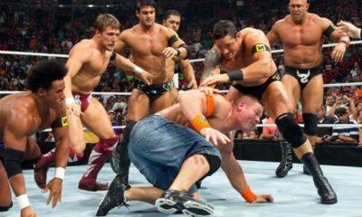 Heath Slater dice que se suponía que Nexus vencería al Equipo WWE hasta que los planes cambiaron 4 horas antes de SummerSlam