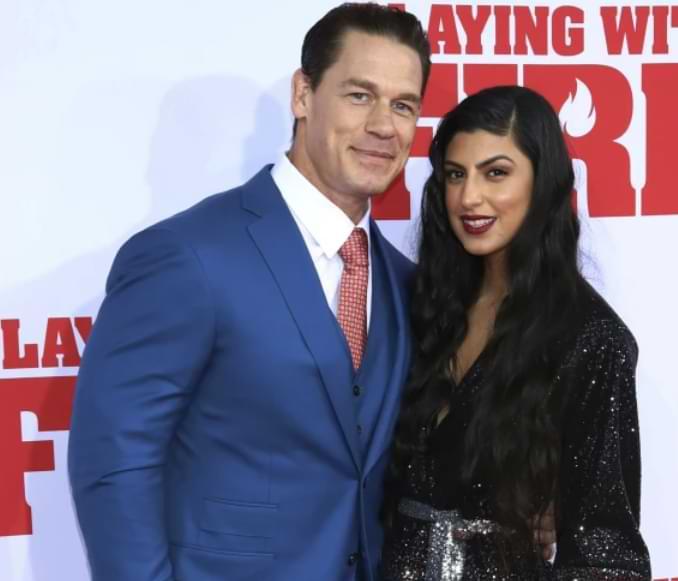 La estrella de la WWE John Cena y Shay Shariatzadeh se casaron