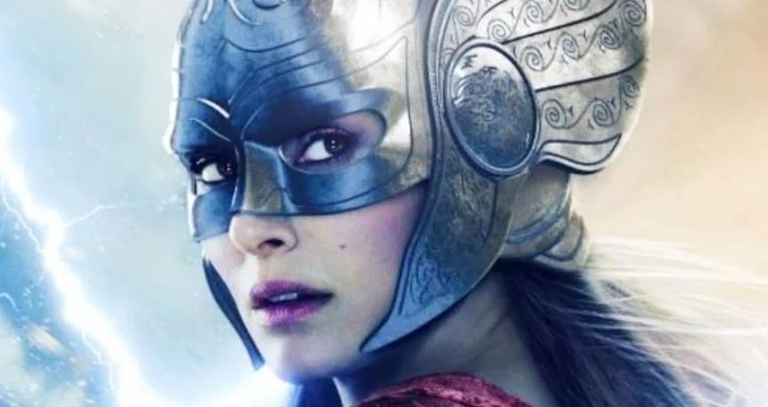 Natalie Portman se burla de su poderosa transformación de Thor en Marvel's Love and Thunder