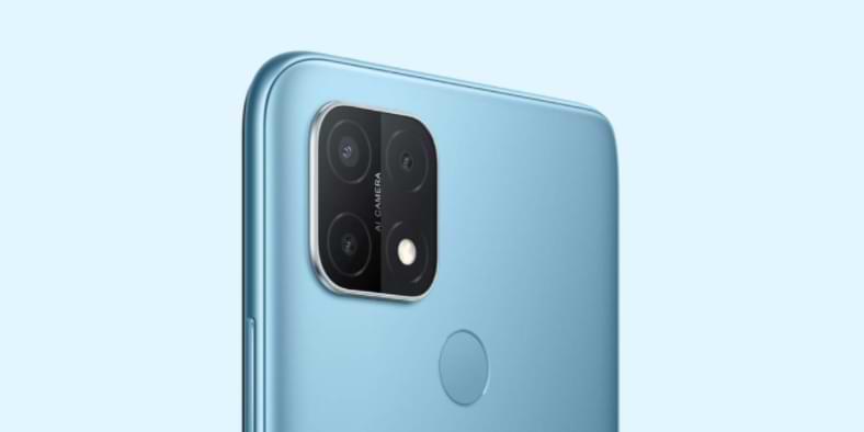 OPPO-A15, un teléfono inteligente con triple cámara asequible