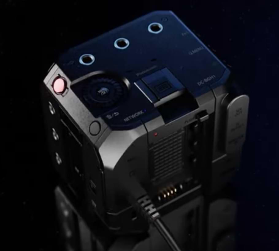 Panasonic presenta la micro cámara de video en forma de caja