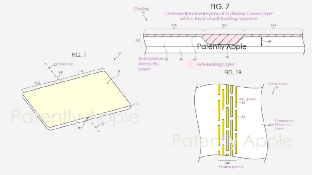 Resulta que Apple quiere hacer un iPhone plegable con una pantalla de 'autocuración'