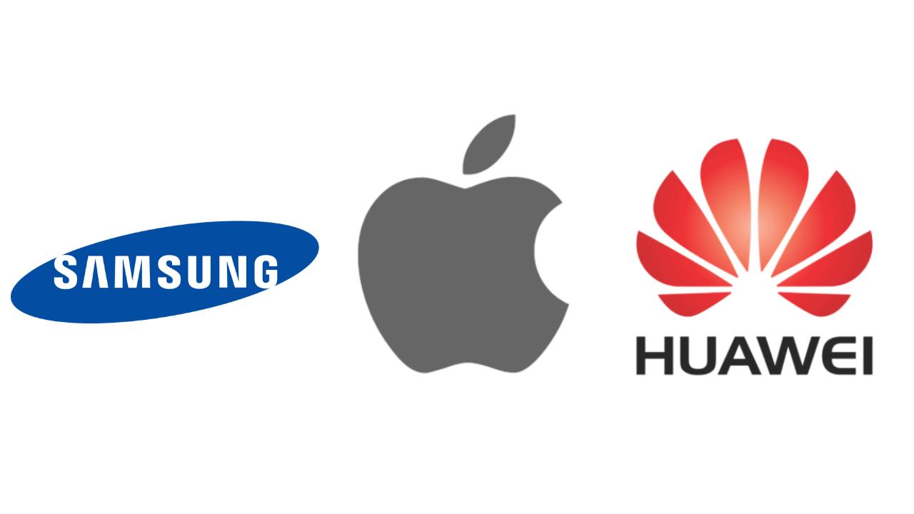 Solo Samsung, Huawei y Apple son los más vendidos en el segundo trimestre de 2020