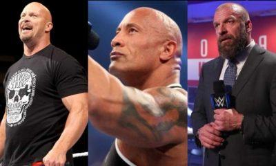 Triple H cree que la disputa con las principales estrellas de la WWE podría ser como The Rock contra Steve Austin