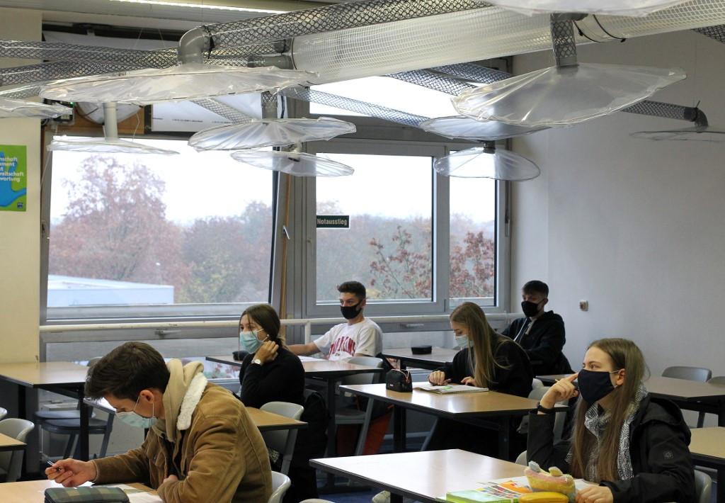 Escuela alemana encuentra la respuesta de bricolaje a la ventilación antivirus