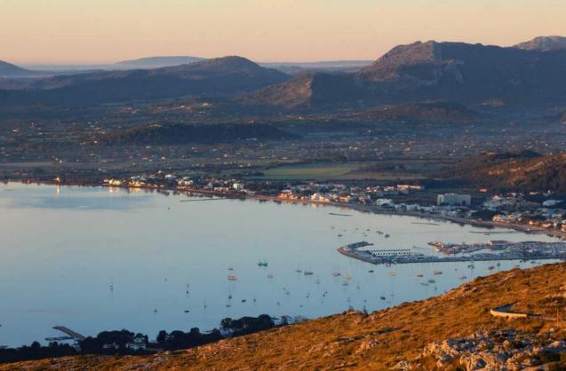 The Bay of Pollensa
