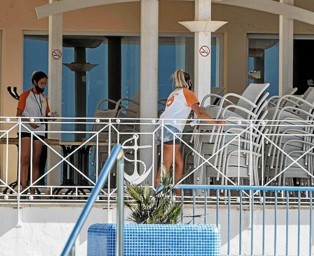 Hotel workers Mallorca